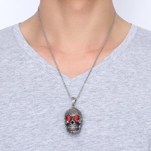 Gothic Skull Necklace