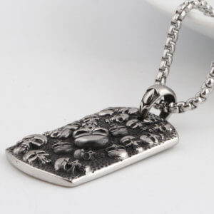 Gothic Skulls Necklace
