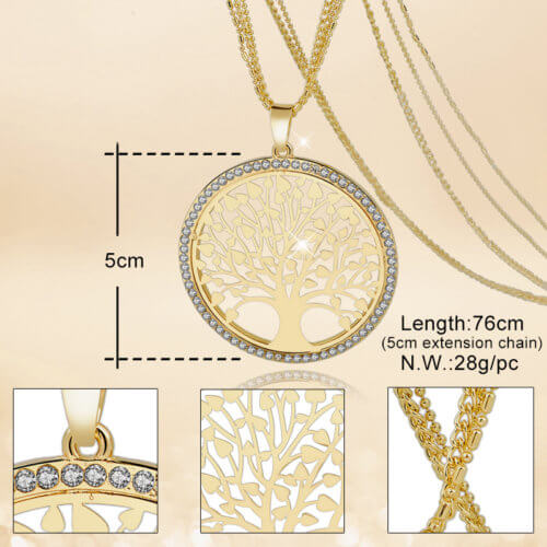 LongWay Tree Of Life Necklace