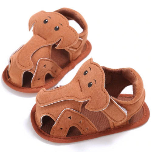 First Walker Elephant Shoes Brown
