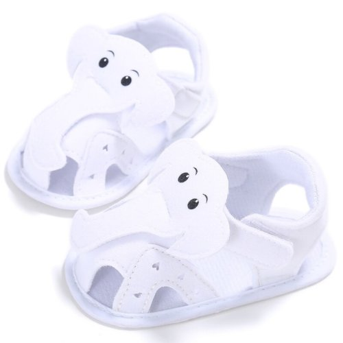 First Walker Elephant Shoes White