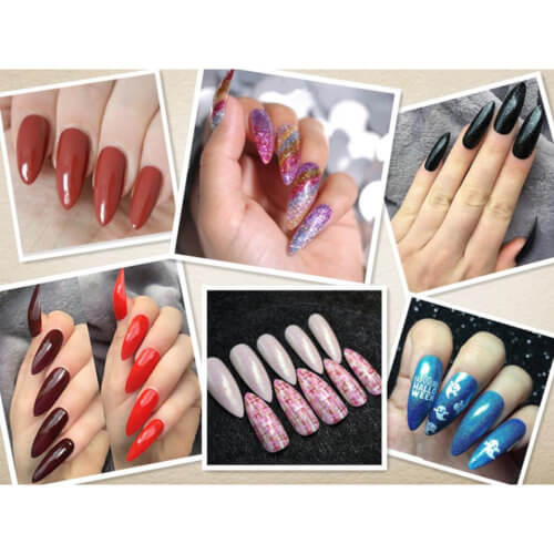 500 Tips Artificial Nails