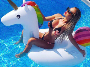 Giant Inflatable Unicorn Pool Ring
