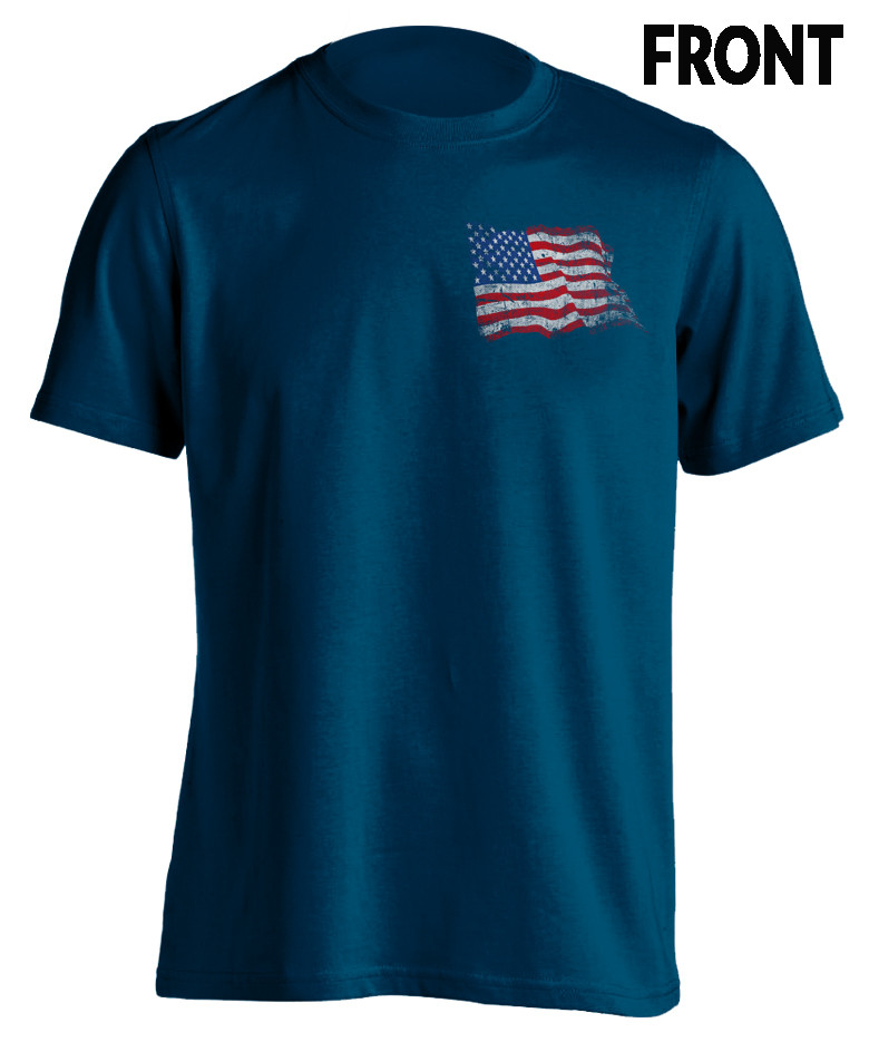 Does My Allegiance Offend You? - Patriotic T-Shirt