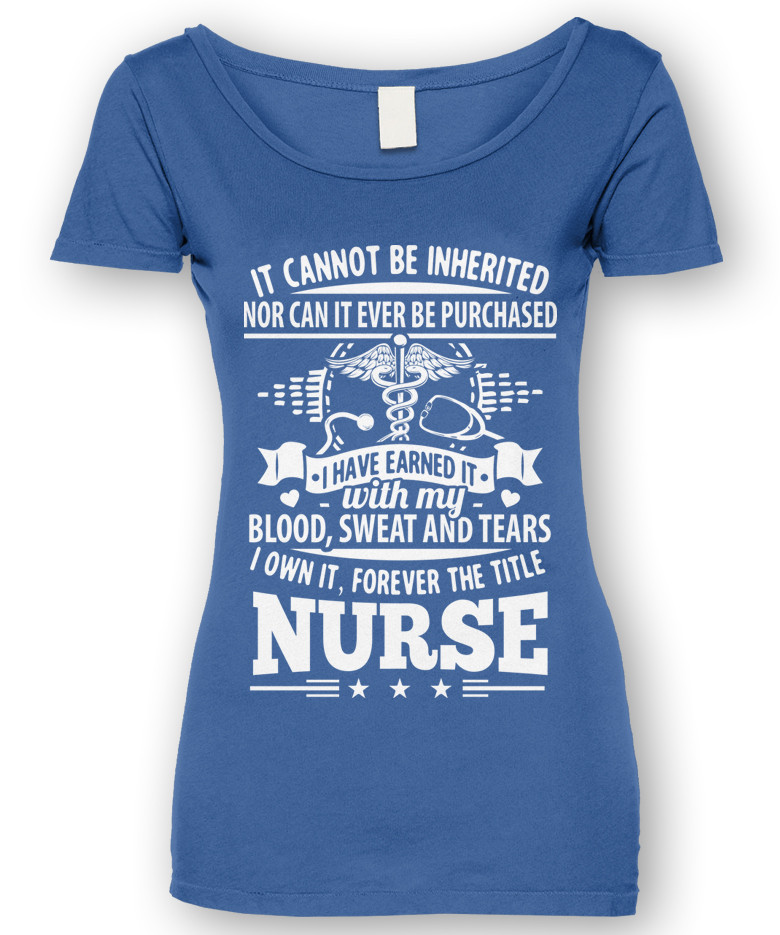 Forever The Title Nurse T-Shirt