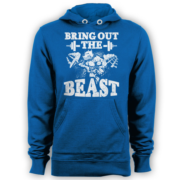 Bring Out The Beast - Body Builder Hoodie
