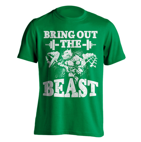 Bring Out The Beast - Body Builders T-Shirt