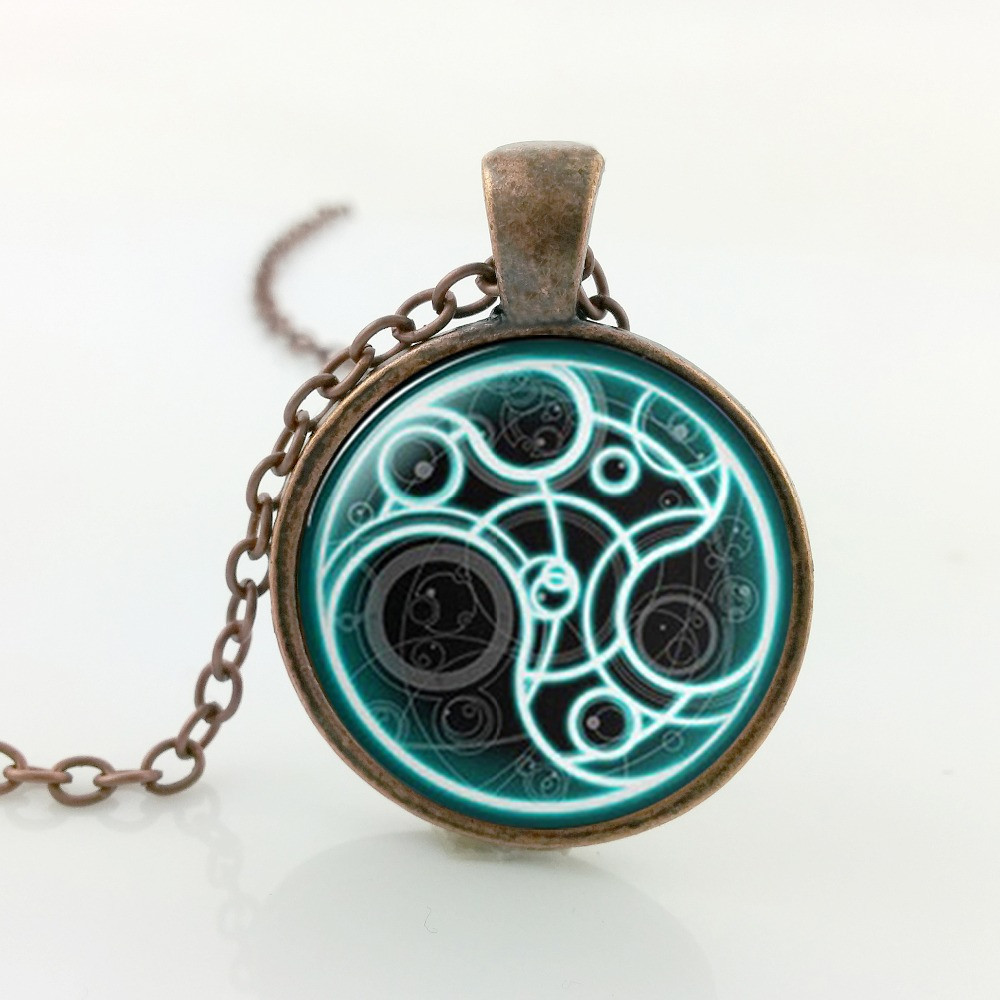 Steampunk Doctor Who Inspired Time Lord Necklace