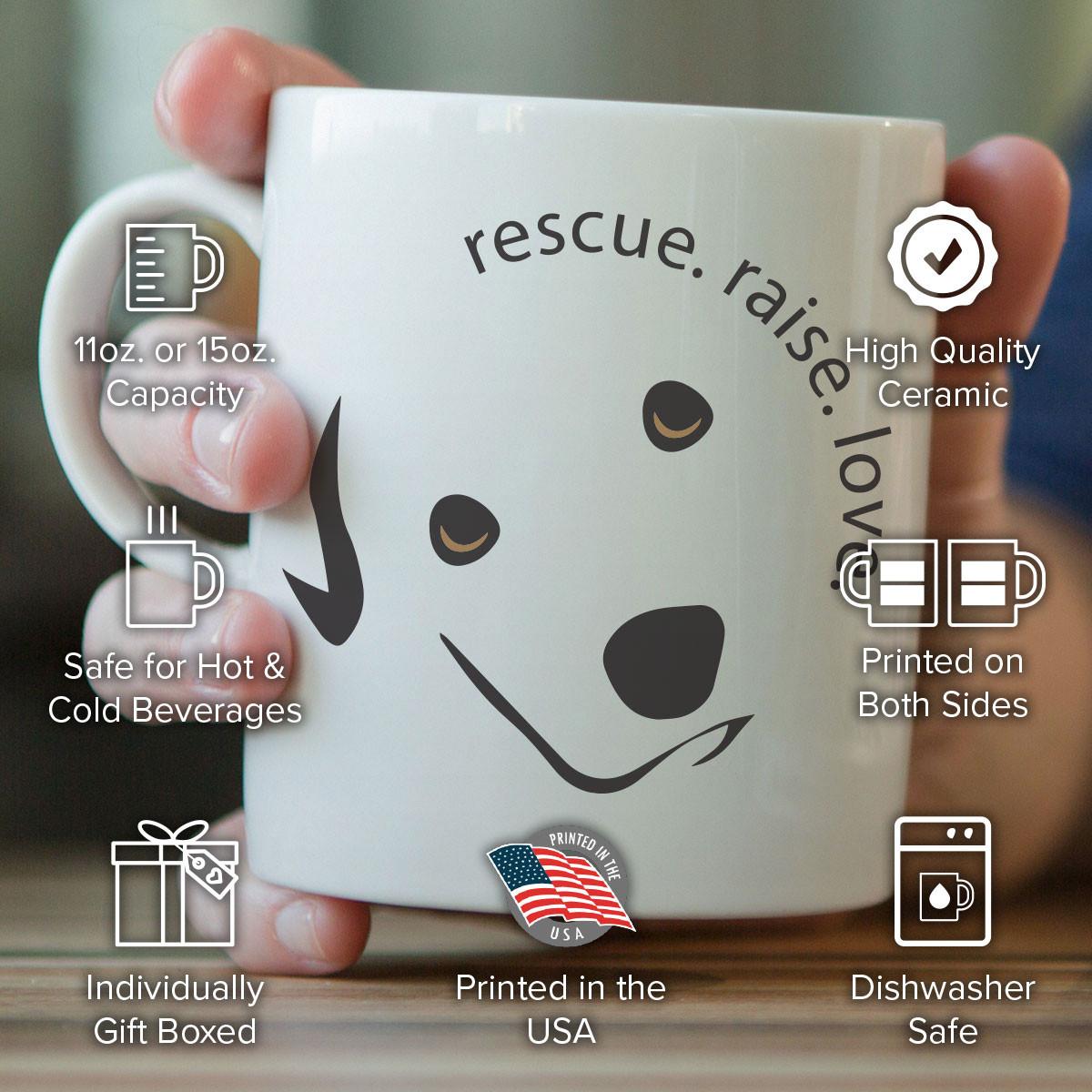 Rescue Raise Love Mug