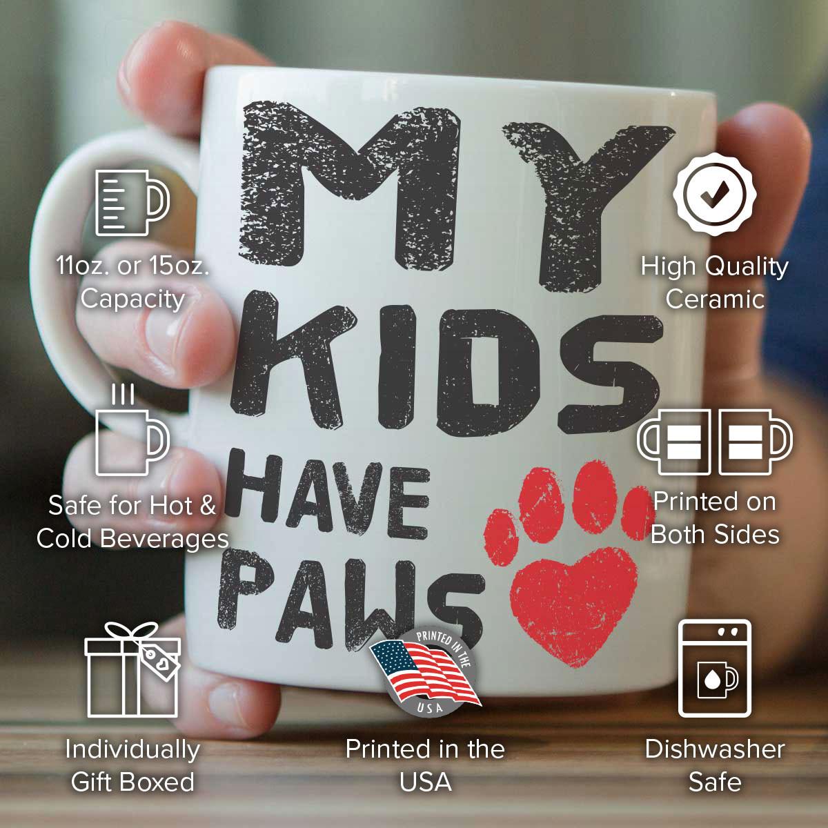 All My Kids Have Paws Mug