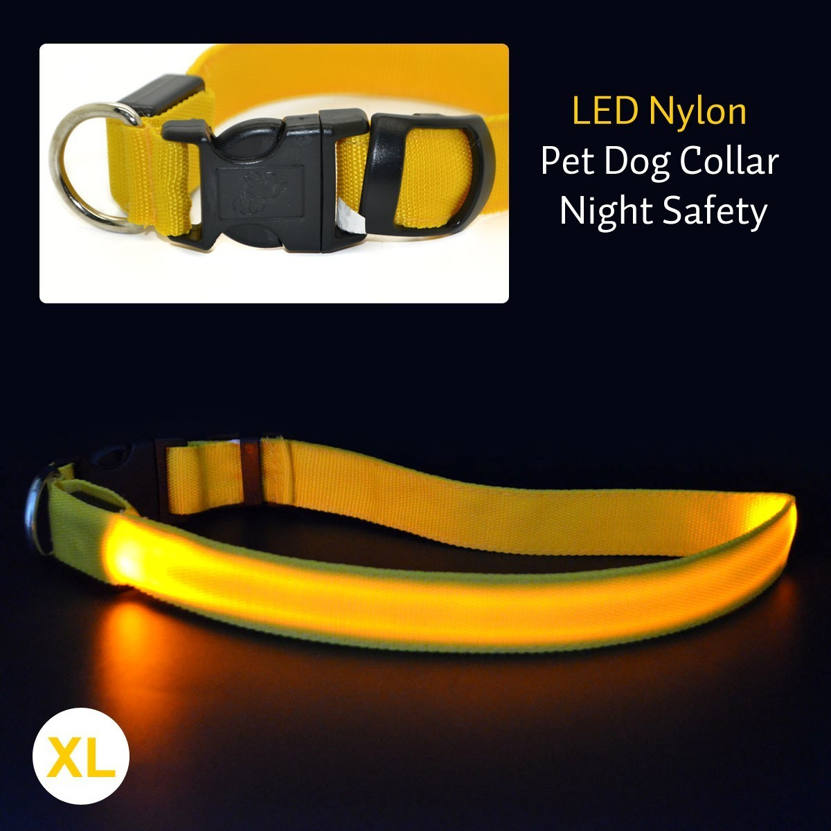 Glow In The Dark Dog Safety Collar