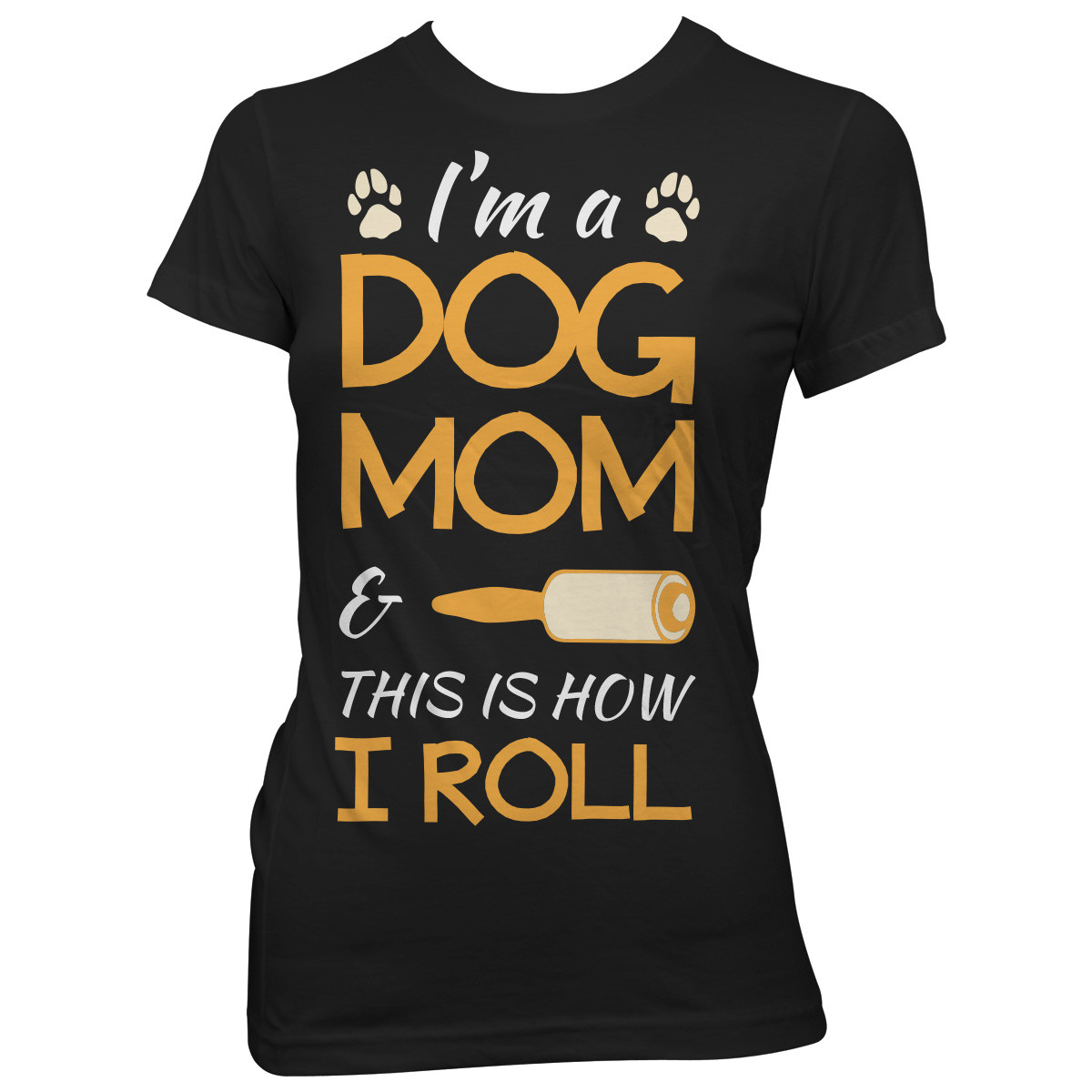"""I'm A Dog Mom"" T-Shirt"