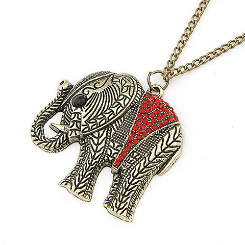 Elephant Ethnic Necklace