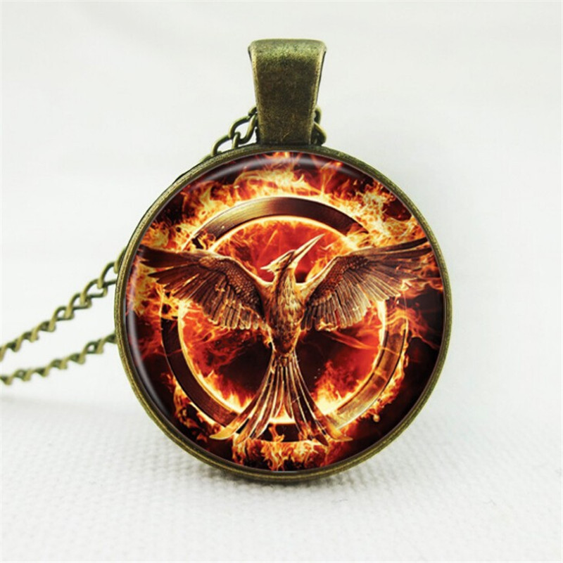 Mockingjay Necklace Inspired By Hunger Games