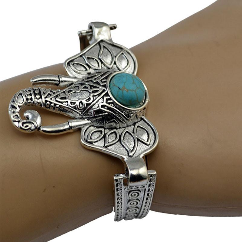 Bohemian Retro Silver Bracelet