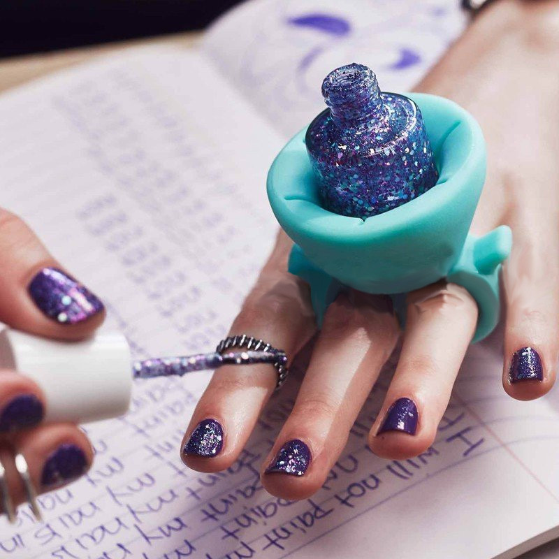 Wearable Nail Polish Silicone Holder