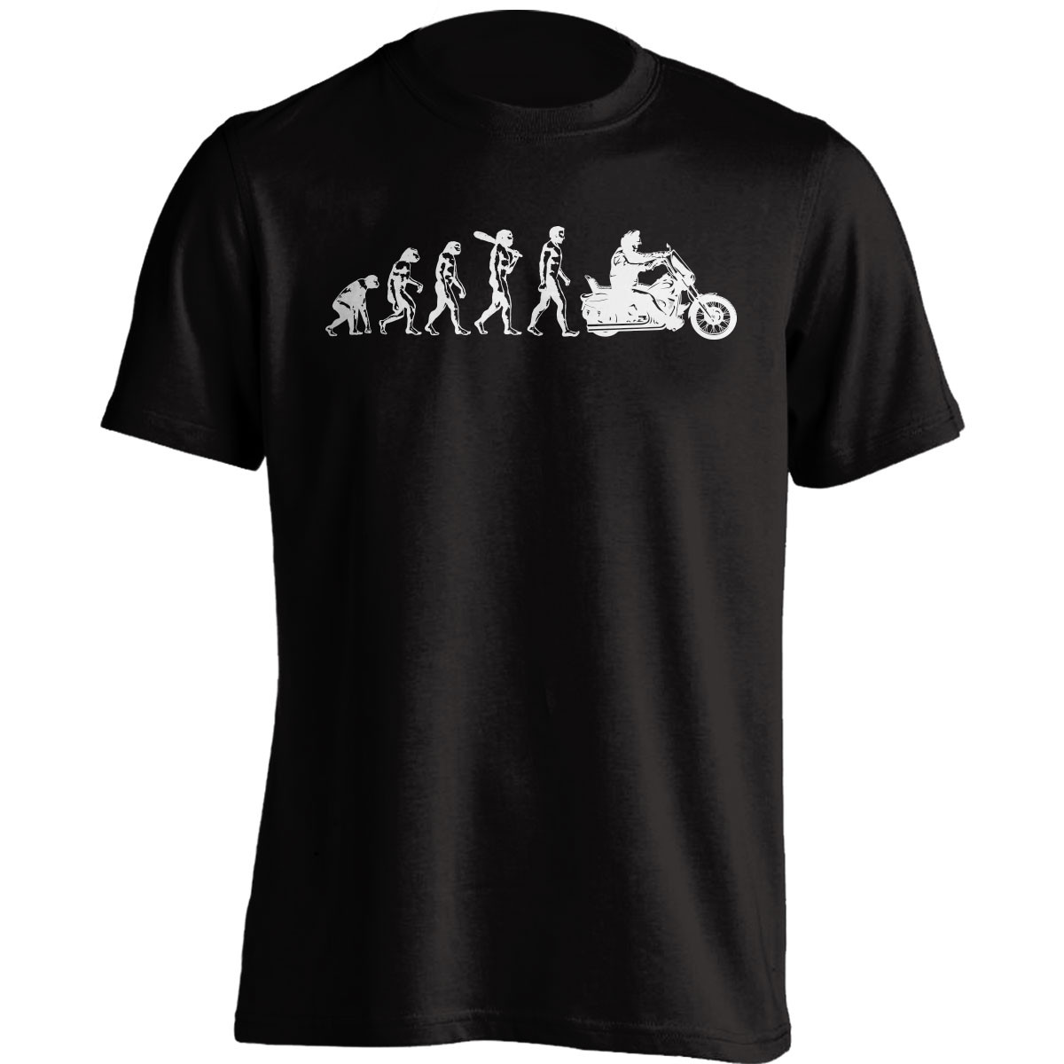 Human Evolution Harley T-Shirt