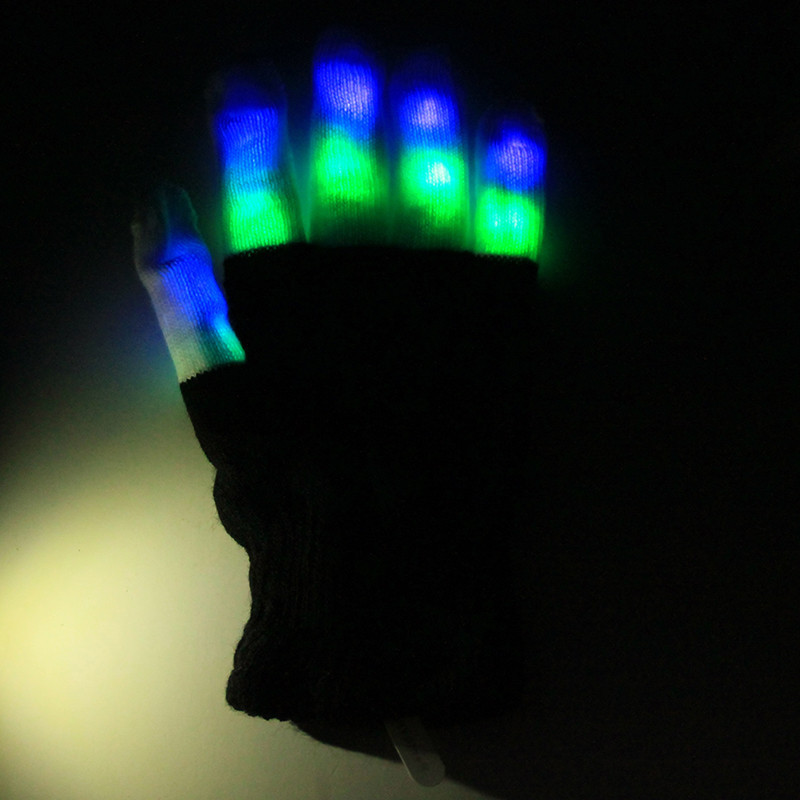 Glowing Gloves