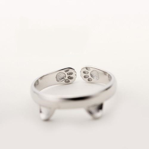 Cat Paw Hug Ring