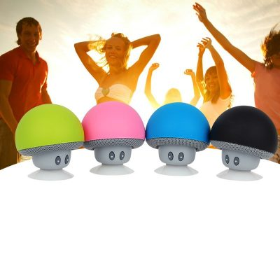 Waterproof Portable Mushroom Bluetooth Speaker