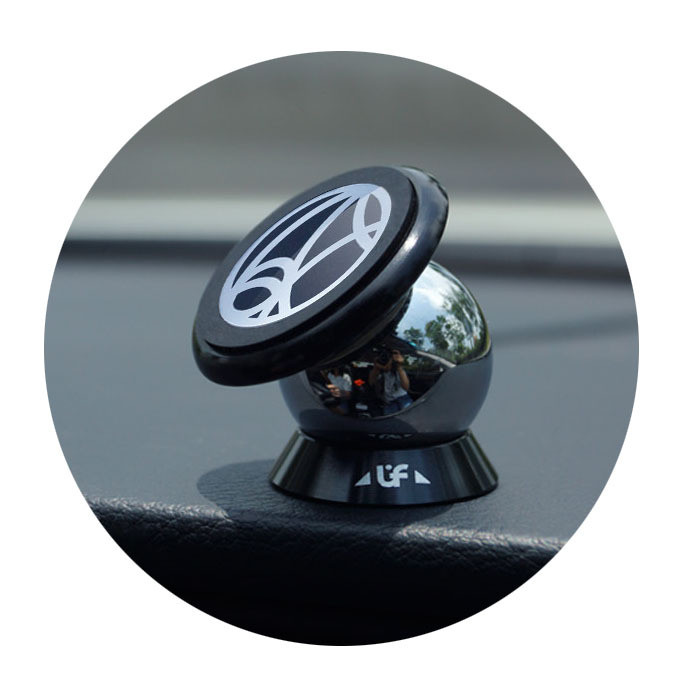 360 Degree Magnetic Car Phone Mount