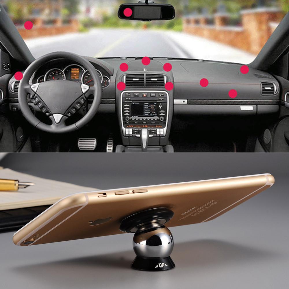 360 Degree Magnetic Car Phone Mount